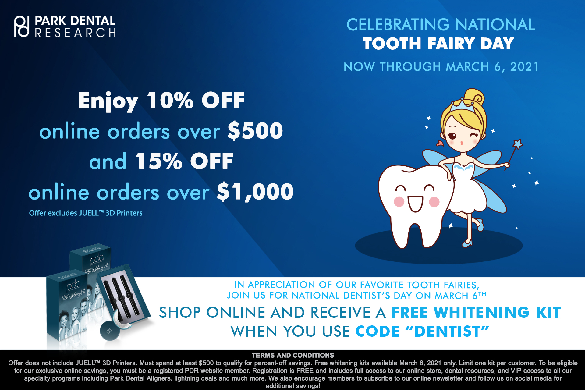 Celebrating National Tooth Fairy Day