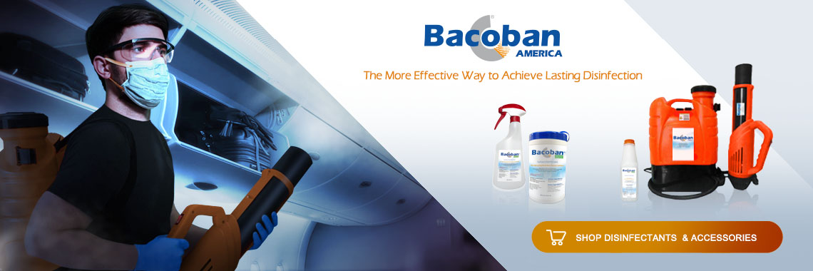 Bacoban America - Lasting Dinfectants