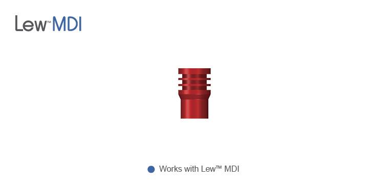 Lew™ 3.0 mm Multi-Platform Impression Cap